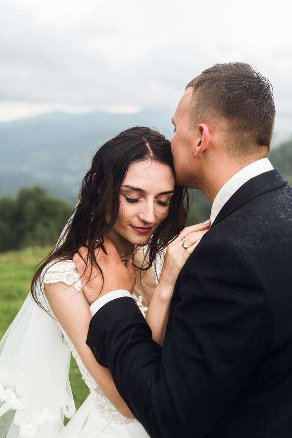 Весільна зйомка в горах для Клюши та Дениса - фото №13