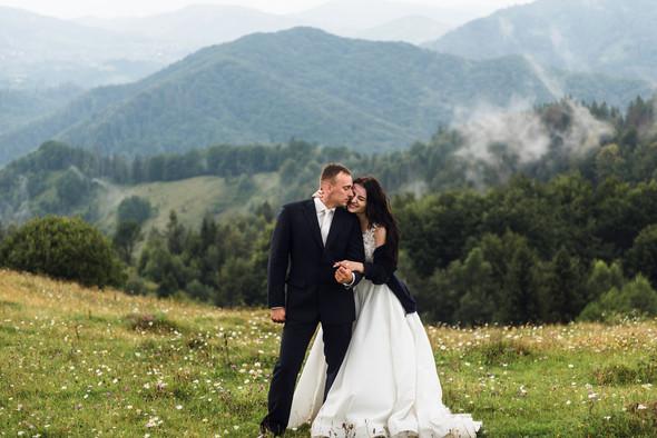 Весільна зйомка в горах для Клюши та Дениса - фото №56