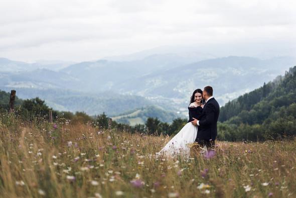 Весільна зйомка в горах для Клюши та Дениса - фото №34