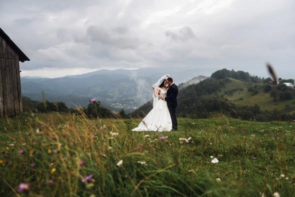 Весільна зйомка в горах для Клюши та Дениса - фото №17