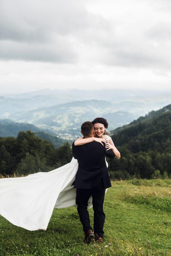 Весільна зйомка в горах для Клюши та Дениса - фото №23