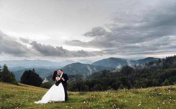 Весільна зйомка в горах для Клюши та Дениса - фото №60