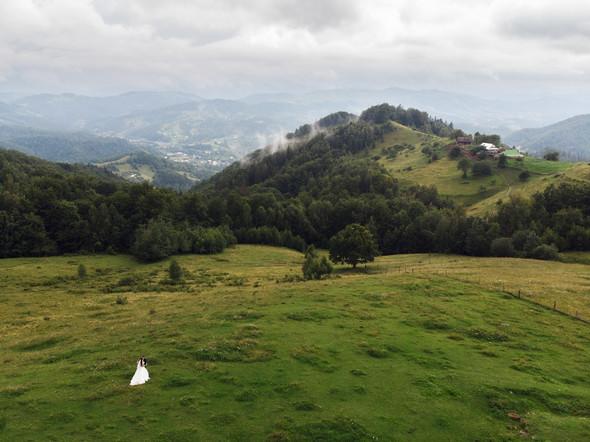 Весільна зйомка в горах для Клюши та Дениса - фото №11