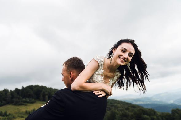 Весільна зйомка в горах для Клюши та Дениса - фото №27