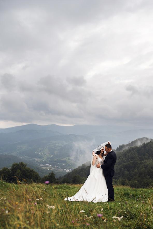 Весільна зйомка в горах для Клюши та Дениса - фото №14