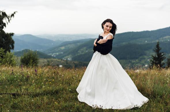 Весільна зйомка в горах для Клюши та Дениса - фото №32