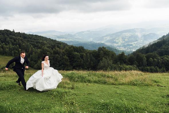 Весільна зйомка в горах для Клюши та Дениса - фото №22