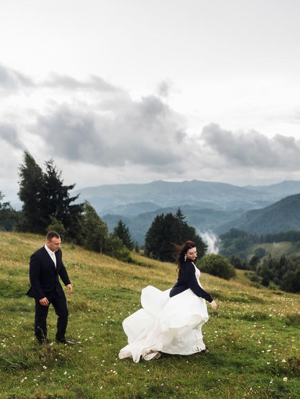 Весільна зйомка в горах для Клюши та Дениса - фото №59