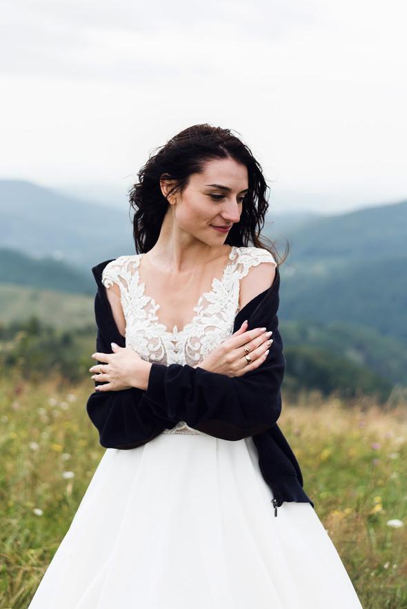 Весільна зйомка в горах для Клюши та Дениса - фото №30