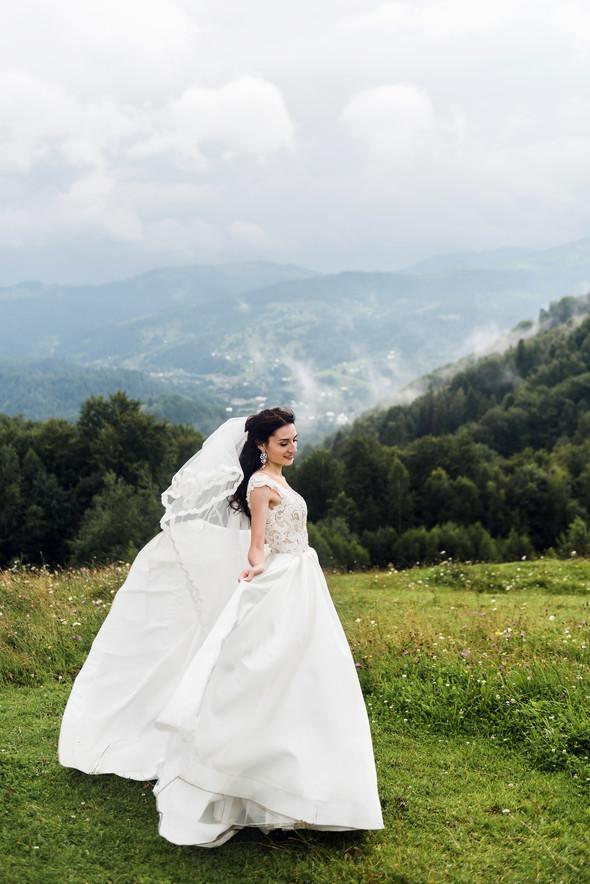 Весільна зйомка в горах для Клюши та Дениса - фото №21