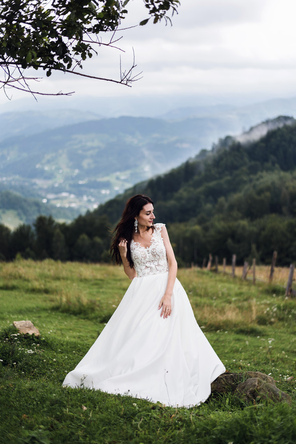 Весільна зйомка в горах для Клюши та Дениса - фото №29