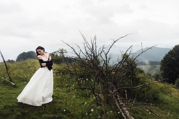 Весільна зйомка в горах для Клюши та Дениса - фото №49
