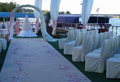 Ресторан для свадьбы на воде «Замок Выдубичи» - фото 2