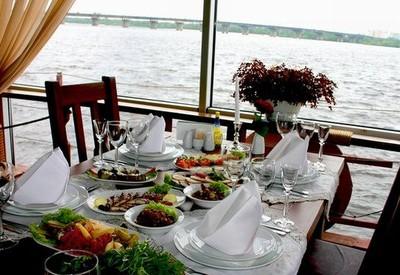Ресторан для свадьбы на воде «Замок Выдубичи» - фото 3
