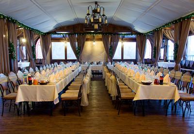 Ресторан для свадьбы на воде «Замок Выдубичи» - фото 1