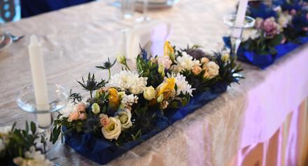 Скидка 10% на свадебную флористику и декор