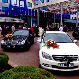 Mercedes C&E&CLS - авто на свадьбу в Ивано-Франковске - портфолио 3