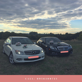 Mercedes C&E&CLS - авто на свадьбу в Ивано-Франковске - портфолио 5