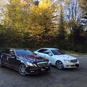 Mercedes C&E&CLS - авто на свадьбу в Ивано-Франковске - портфолио 2