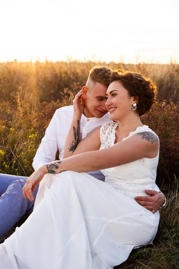 Свадьба на закате  - фото №29