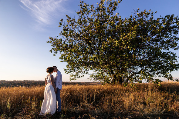 Свадьба на закате  - фото №24