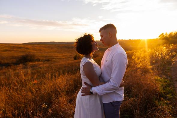 Свадьба на закате  - фото №31