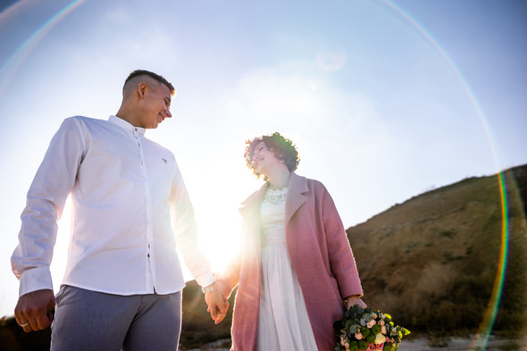 Свадьба на закате  - фото №20