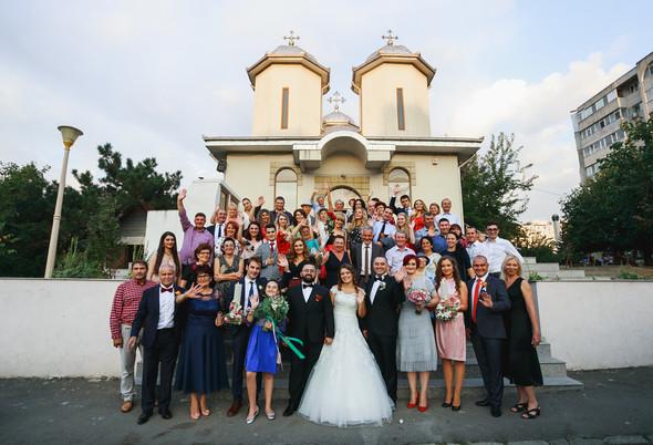 Свадебный день Себастьяна и Насти. Констанца, Румыния - фото №97