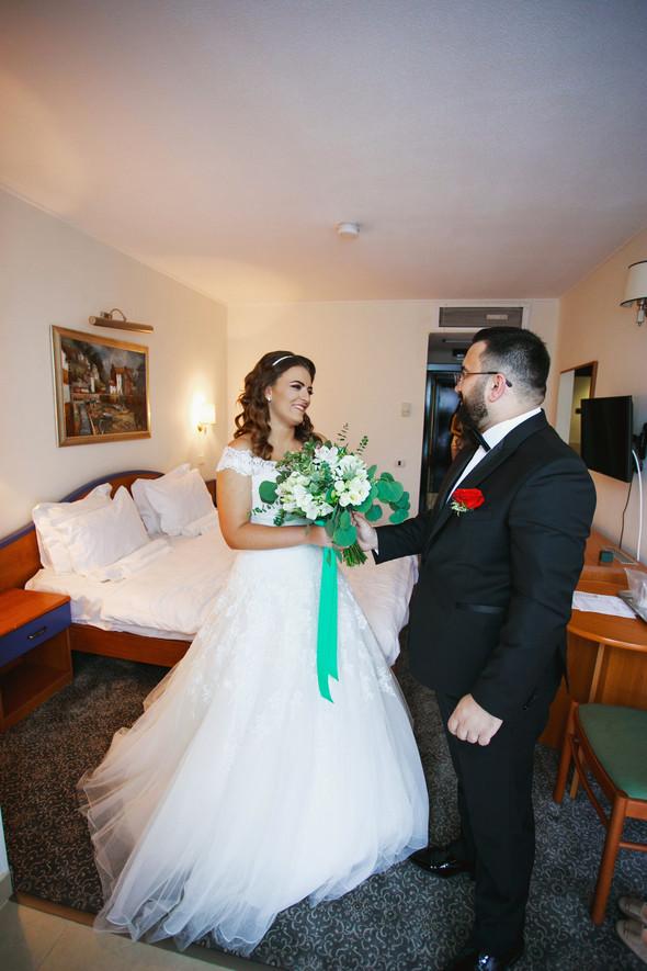 Свадебный день Себастьяна и Насти. Констанца, Румыния - фото №25