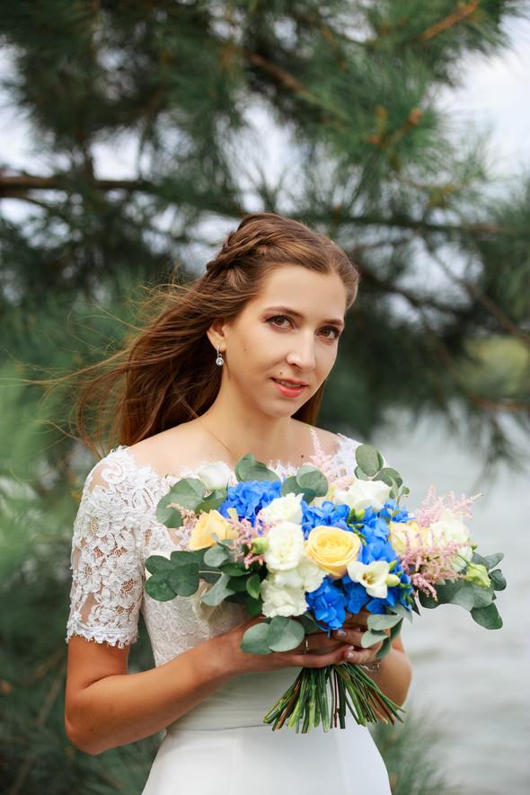 Свадебная прогулка Ильи и Марины - фото №9