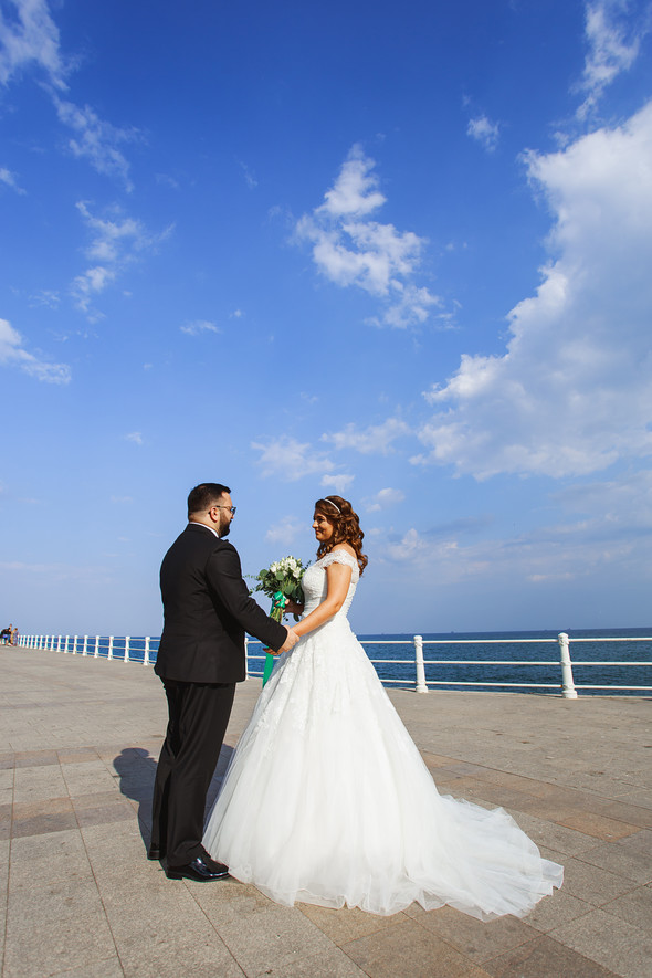 Свадебный день Себастьяна и Насти. Констанца, Румыния - фото №40