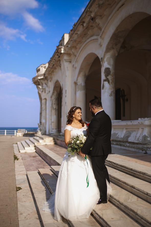 Свадебный день Себастьяна и Насти. Констанца, Румыния - фото №42