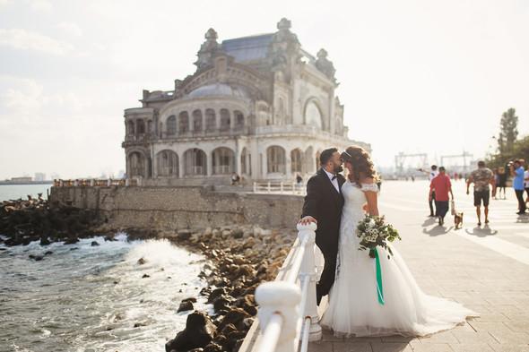 Свадебный день Себастьяна и Насти. Констанца, Румыния - фото №45