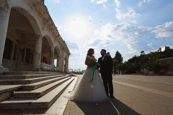 Свадебный день Себастьяна и Насти. Констанца, Румыния - фото №43