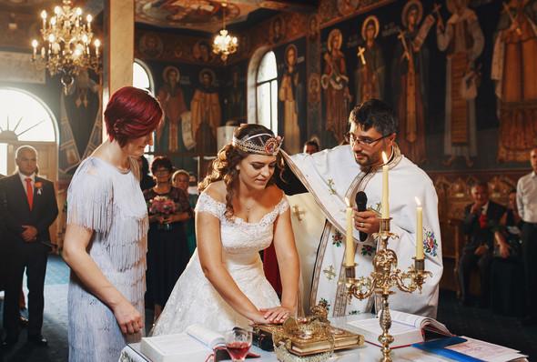 Свадебный день Себастьяна и Насти. Констанца, Румыния - фото №86