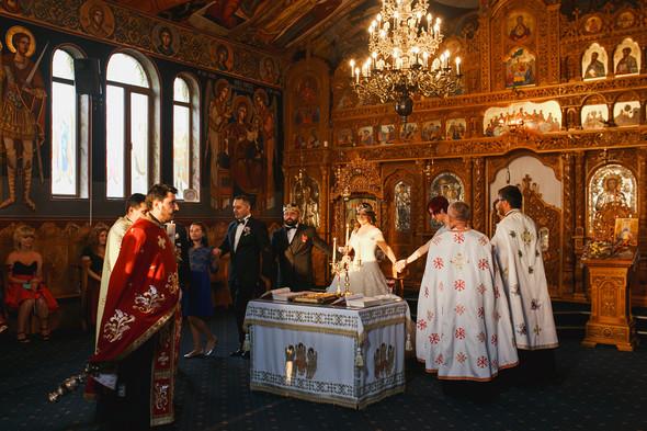 Свадебный день Себастьяна и Насти. Констанца, Румыния - фото №82
