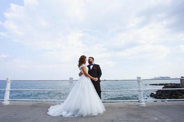 Свадебный день Себастьяна и Насти. Констанца, Румыния - фото №38