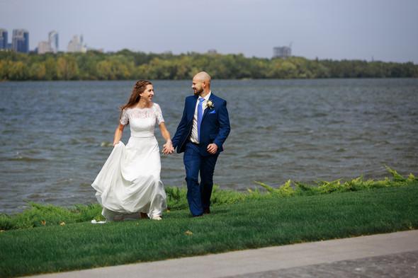 Свадебная прогулка Ильи и Марины - фото №15