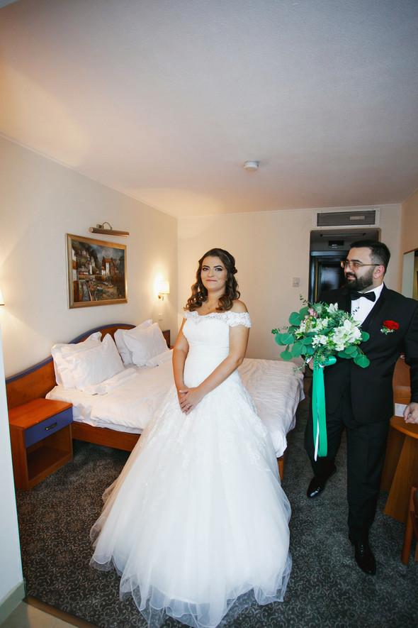 Свадебный день Себастьяна и Насти. Констанца, Румыния - фото №23