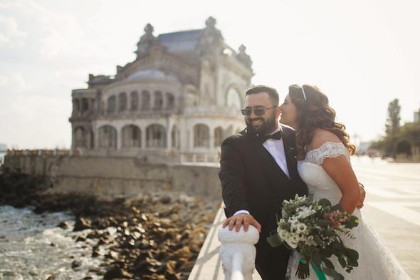 Свадебный день Себастьяна и Насти. Констанца, Румыния - фото №46