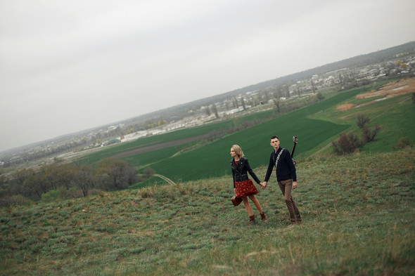 Прогулка Лёши и Иры - фото №1