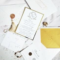 Save the date - Свадебная полиграфия - пригласительные на свадьбу в Запорожье - фото 2