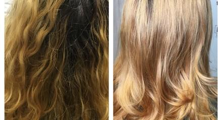 Оформление бровей, стрижка, окрашивание волос со скидкой 40%