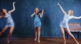 Aquamarine Violin&Dance Show - артист, шоу в Киеве - портфолио 1