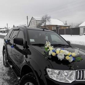 Mitsubishi Pajero Sport - авто на свадьбу в Сумах - портфолио 2