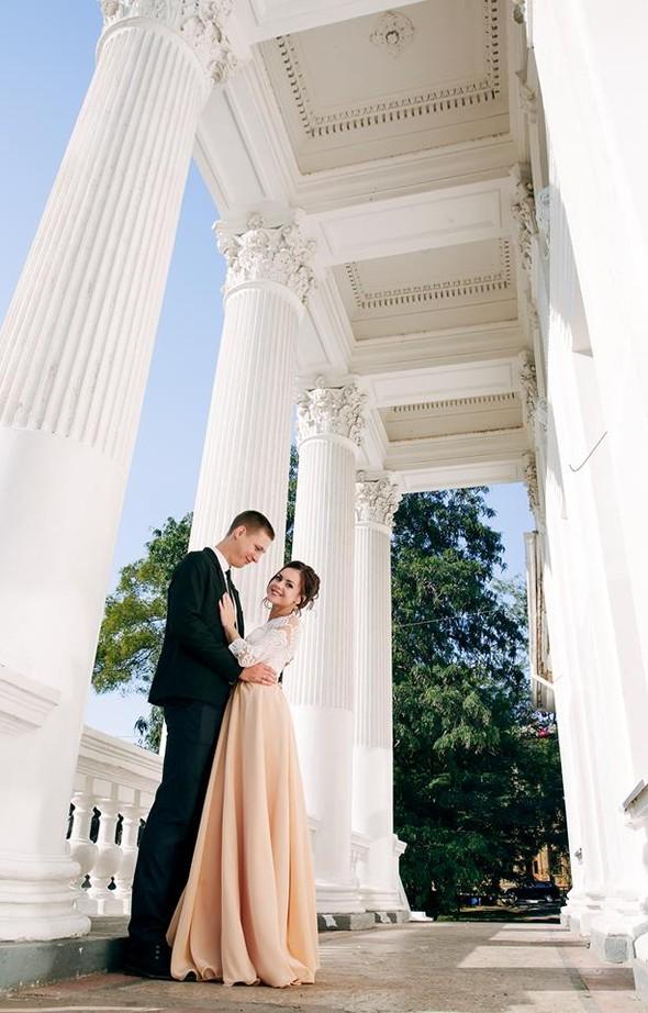 Свадебная прогулка Алёны и Олега - фото №3