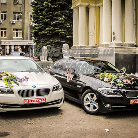BMW 528i - авто на свадьбу в Харькове - портфолио 2