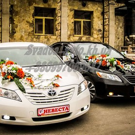 Toyota Camry - авто на свадьбу в Харькове - портфолио 4