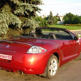 Mitsubishi Eclipse - авто на свадьбу в Харькове - портфолио 3