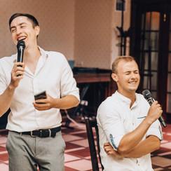Дуэт ведущих Александра Кузнецова и Максим Рыжевол - ведущий в Черкассах - фото 4